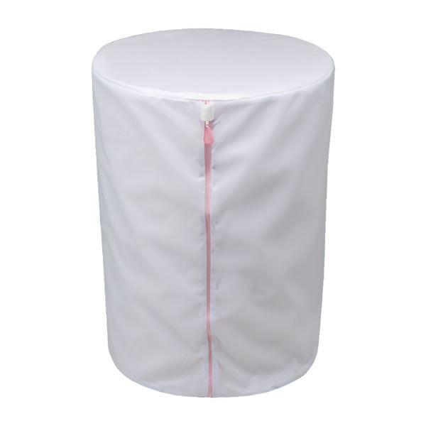 (まとめ) 洗濯ネット/洗濯用品 【筒型 超特大】 直径40×55cm CX 全自動用せんたくネット 【60個セット】 送料込!