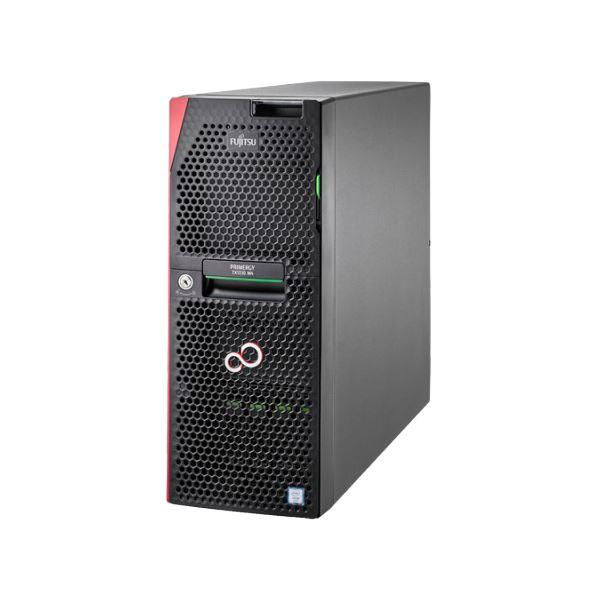 FUJITSU PRIMERGY TX1330 M4 セレクト(Xeon E-2136/16GB/SAS300GB*4 RAID5+HS/W2016std) 送料込!