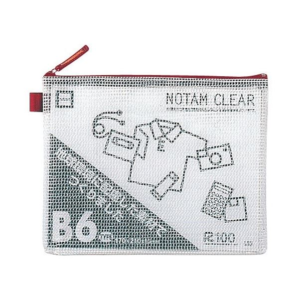 (まとめ)サクラクレパス ノータムクリアー B6 レッド UNC-B6#19【×50セット】 送料込!