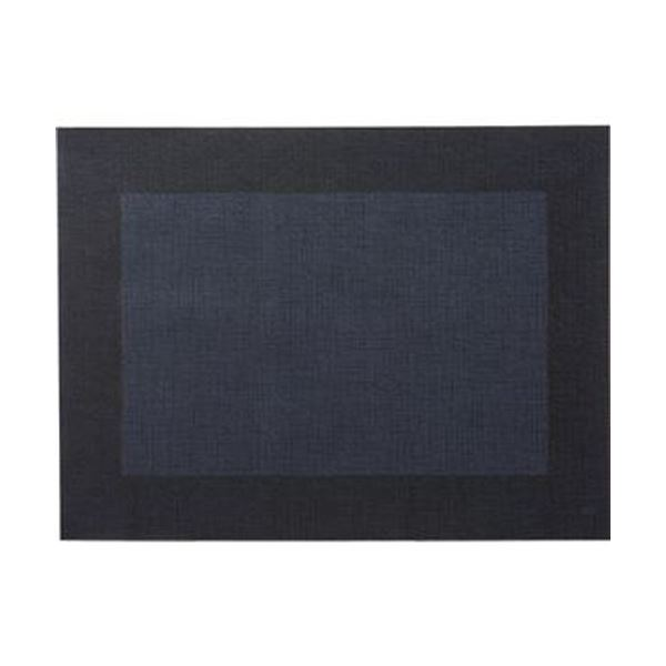 (まとめ)デュニ カラーランチョンマットブラック 1パック(100枚)【×5セット】 送料無料!