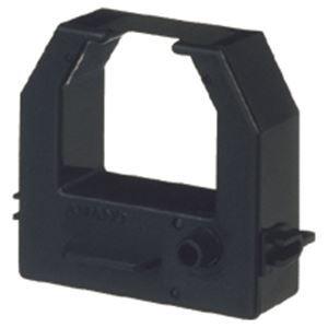 (まとめ) アマノ タイムレコーダー用インクリボンカセット 黒 CE319250 1個 【×5セット】 送料無料!