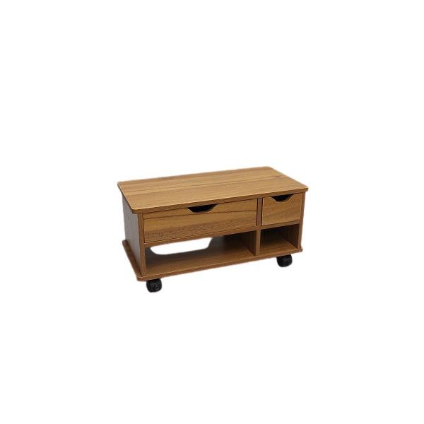 春の新作 商店 布団周りに置きたい物や小物収納に大活躍するワゴンです 木製 布団サイド ワゴン ブラウン 代引不可 組立式 送料込