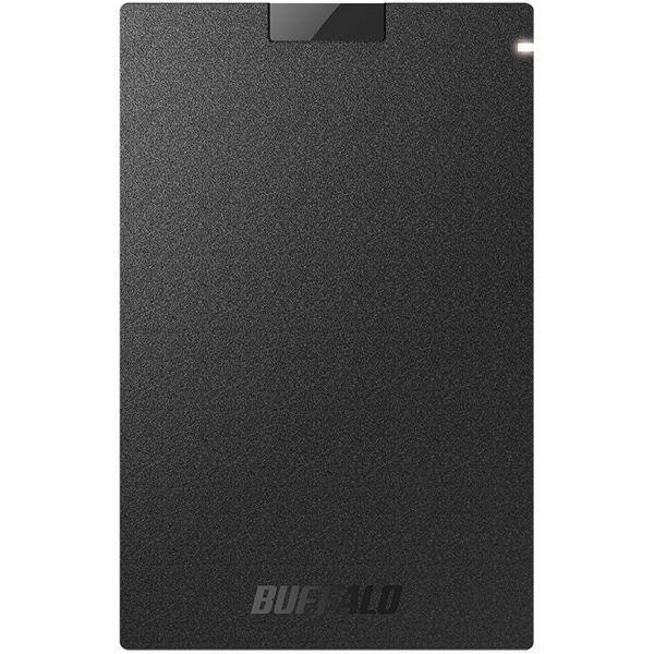 バッファロー USB3.1(Gen1) ポータブルSSD 960GB ブラック SSD-PG960U3-BA 送料込!