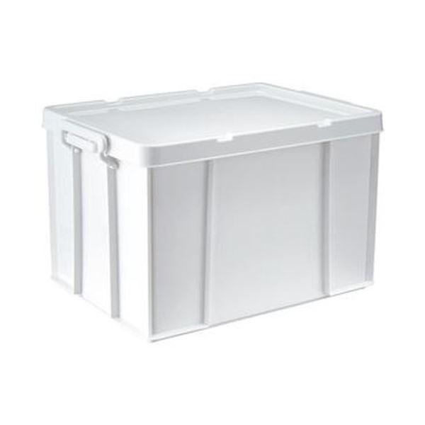 (まとめ)天馬 ロックス モノ 530LW390×D530×H320mm ホワイト 1個【×3セット】 送料無料!