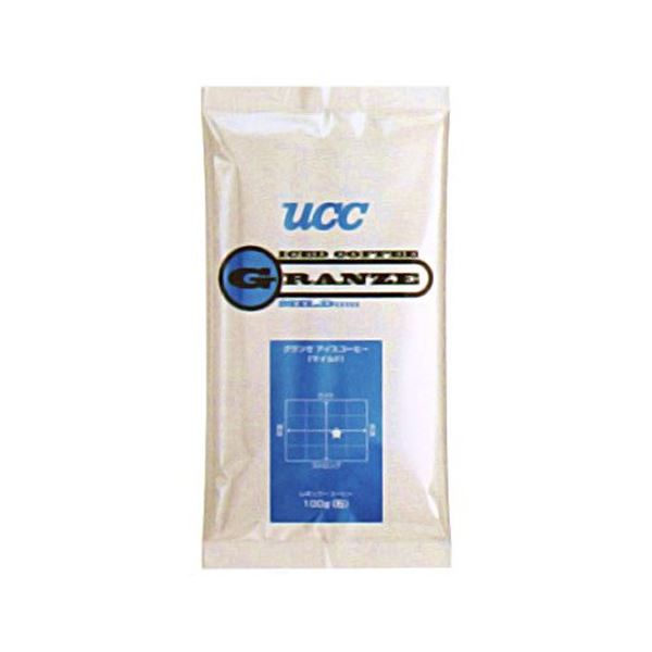 UCC上島珈琲 UCCグランゼマイルドアイスコーヒー(粉)AP100g 50袋入り UCC301185000 送料無料!