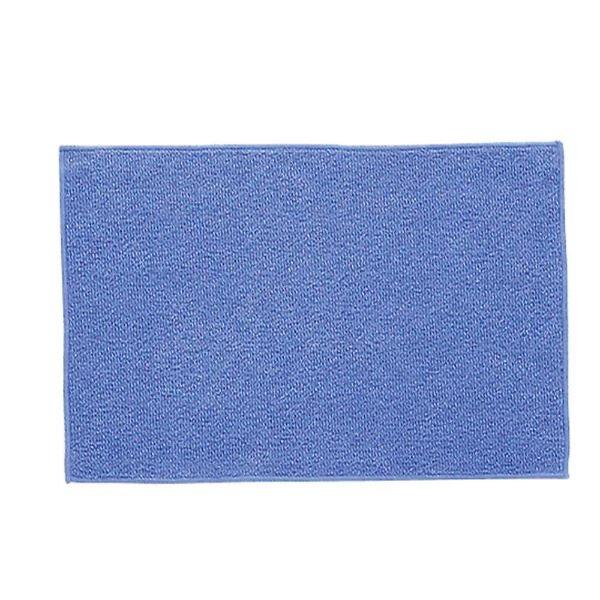 (まとめ) 極細ダスター/雑巾 【水拭き用】 フローリングワイパー取り付け可 ブルー 掃除用品 【×240個セット】 送料込!