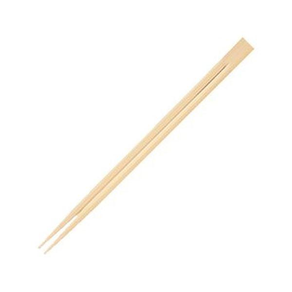 丸みがあり折れにくく、持ちやすい竹双生箸。 (まとめ)きんだい 竹割箸 双生 21cm TS-100A 1パック(100膳)【×50セット】 送料込!