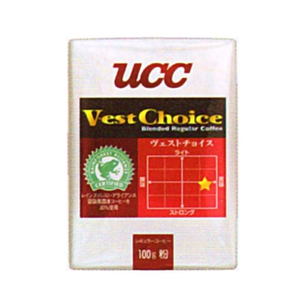 UCC上島珈琲 UCCヴェストチョイスSAS(粉)VP100g 50袋入り UCC302419000 送料無料!