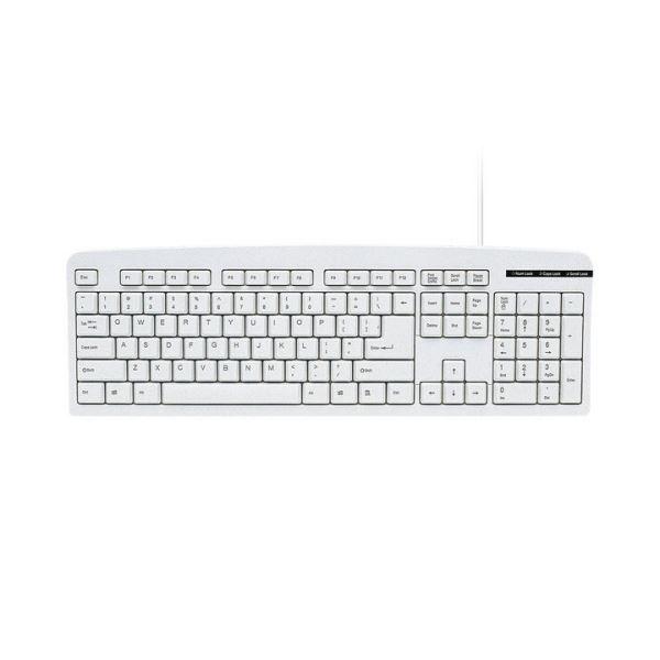 (まとめ) サンワサプライ 英語USBキーボードライトグレー SKB-E1UN 1台 【×10セット】 送料無料!