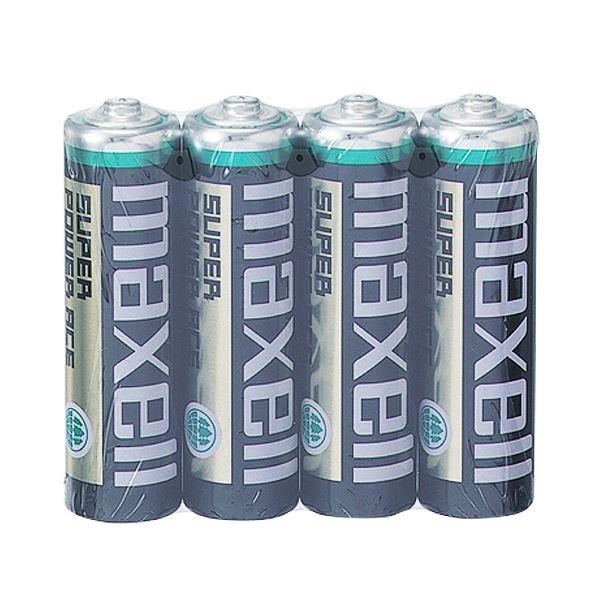 (まとめ) マクセル マンガン乾電池 BLACK単3形 R6PU(BN) 4P 1パック(4本) 【×50セット】 送料無料!