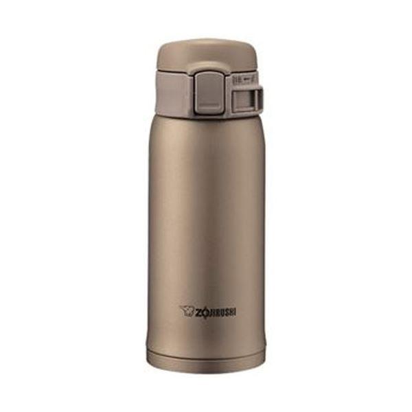 (まとめ)象印 ステンレスボトル SM-SE型36サイズ(0.36L)ベージュゴールド SM-SE36-NZ 1本【×5セット】 送料無料!