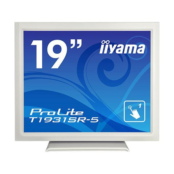 iiyama ProLite19型スタンドタイプタッチパネル液晶(抵抗膜タッチ方式)ピュアホワイト T1931SR-W5 1台 送料込!