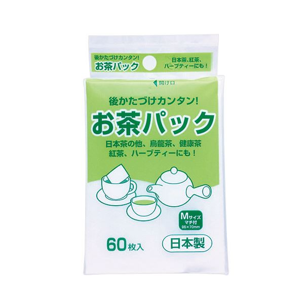 (まとめ) アートナップ お茶パック (ひもなし) 1パック(60枚) 【×100セット】 送料無料!