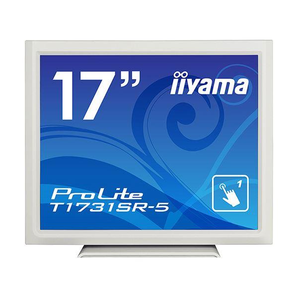 iiyama ProLite17型スタンドタイプタッチパネル液晶(抵抗膜タッチ方式)ピュアホワイト T1731SR-W5 1台 送料無料!