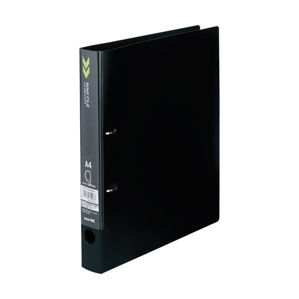(まとめ) コクヨ Dリングファイル(K2)A4タテ 背幅36mm 黒 K2フ-CD420D 1冊 【×30セット】 送料無料!