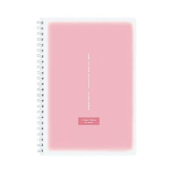 (まとめ)コクヨ ツインリングノート<コロレー> A5 50枚 ピンク ス-TV31AN-P 1セット(5冊)【×10セット】 送料無料!
