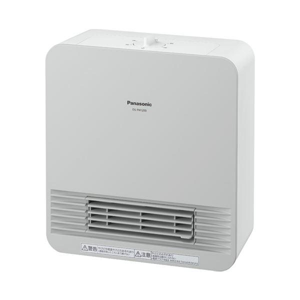 (まとめ)Panasonic セラミックファンヒーター DS-FN1200-W【×5セット】 送料込!