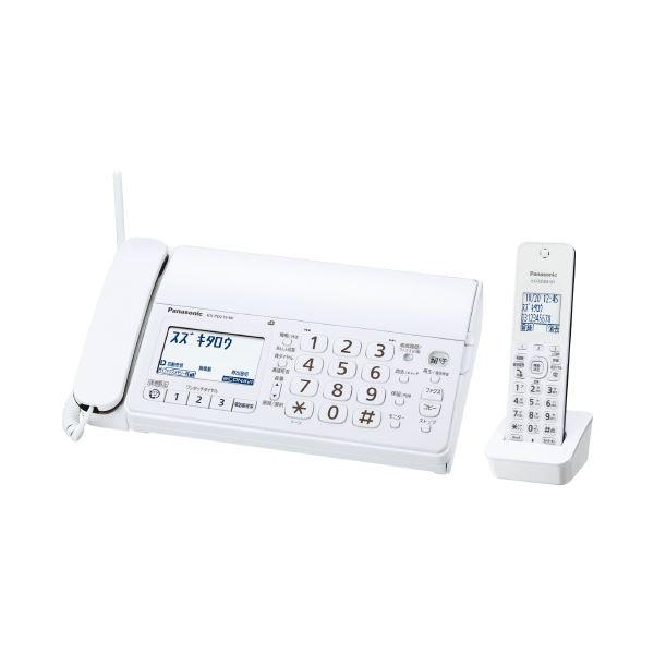 (まとめ)Panasonic パーソナルファックス KX-PD215DL-W【×5セット】 送料込!