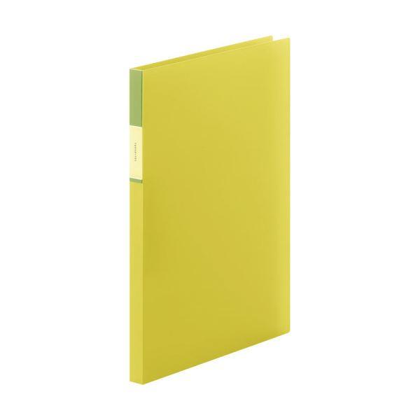 (まとめ) キングジム FAVORITESZファイル(透明) A4タテ 120枚収容 背幅17mm 黄色 FV558Tキイ 1冊 【×30セット】 送料無料!