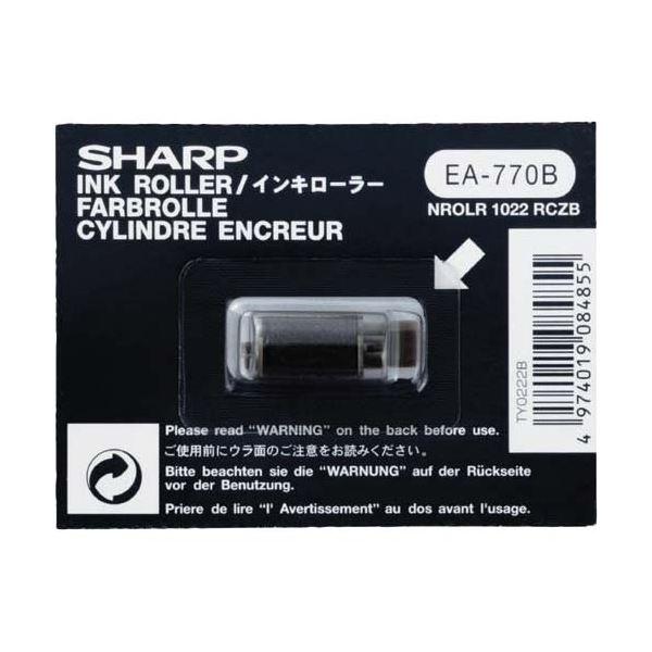 (まとめ) シャープ 電子レジスタ用インキローラ 黒TY0222B 1個 【×30セット】 送料無料!