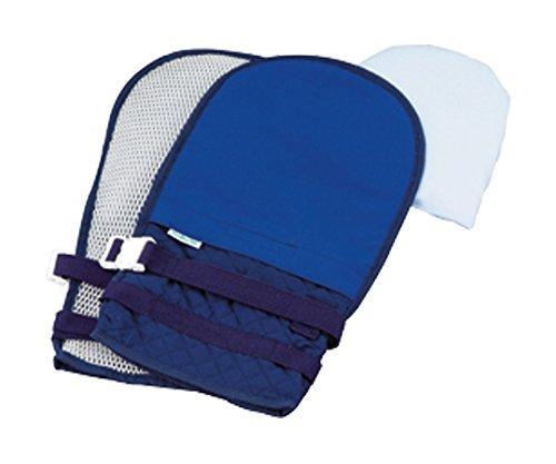 2020新作 抜管防止手袋 大 OUTLET SALE キルティング ブルー 送料込み