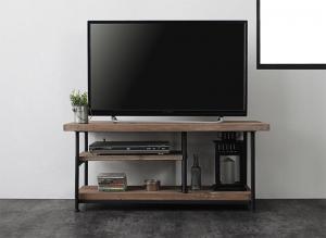 杉古材ヴィンテージデザインリビングシリーズ Bartual バーチュアル テレビボード 幅90