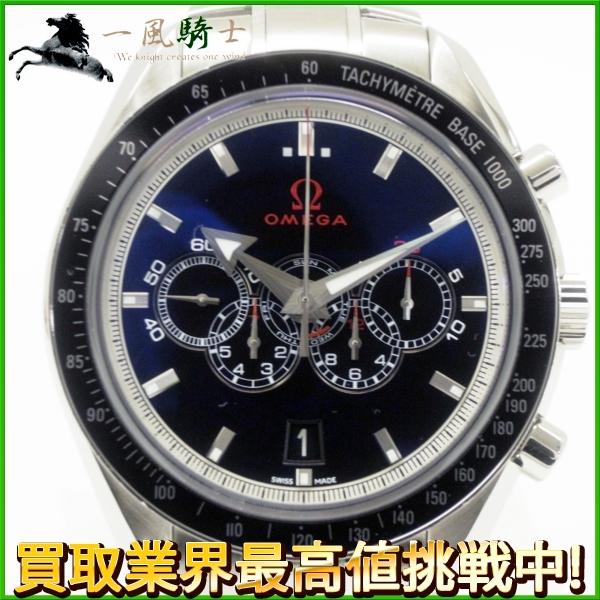 119126【OMEGA】【オメガ】スピードマスター オリンピック コレクション 321.30.44.52.01.001 SS ブラック(黒)文字盤 自動巻きomega ブロードアロー メンズ時計:一風騎士