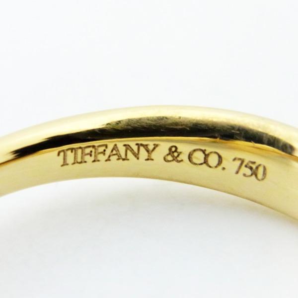 188763 TIFFANY Coティファニー ビーンズ リング K18YG ♯9T Co9号 750 イエローゴールド 豆 ビーン 指輪 アクセサリー ブランドジュエリーYvfgIb76y