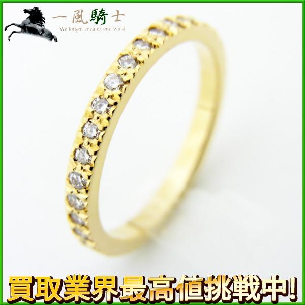 【中古】 ダイヤ ダイヤモンド GENJ 【超大幅値下げ品!】 フルエタニティ リング 0.28ct K18YG