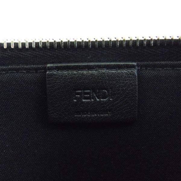 194773 未使用FENDIフェンディ クラッチバッグ アップルモチーフ カーフ ブラック 黒8M0363 シルバー金具fendi パーティバッグ セカンドバッグ も多数出品中thrdxBsQC