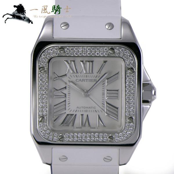 245828【中古】【Cartier】【カルティエ】サントス100 MM WM50460M