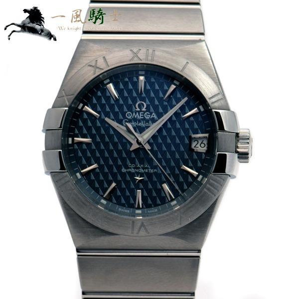 5e37713ff1 261424【中古】【OMEGA】【オメガ】コンステレーション コーアクシャル 123.10.38.21.03.001-メンズ腕時計