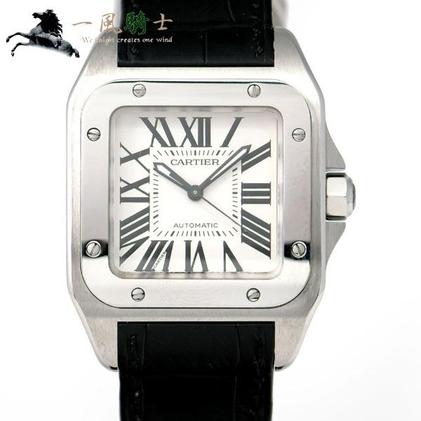 当社の 264117【】【Cartier】 MM W20106X8【カルティエ】サントス100 MM W20106X8, クボタチョウ:40cdba24 --- baecker-innung-westfalen-sued.de