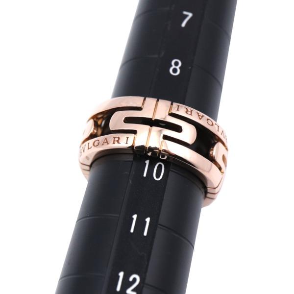 281330【ブルガリ】【BVLGARI】オープン パレンテシ リング K18PG #50オープンワーク 10号 ピンクゴールド 750 指輪 アクセサリー ブランドジュエリー