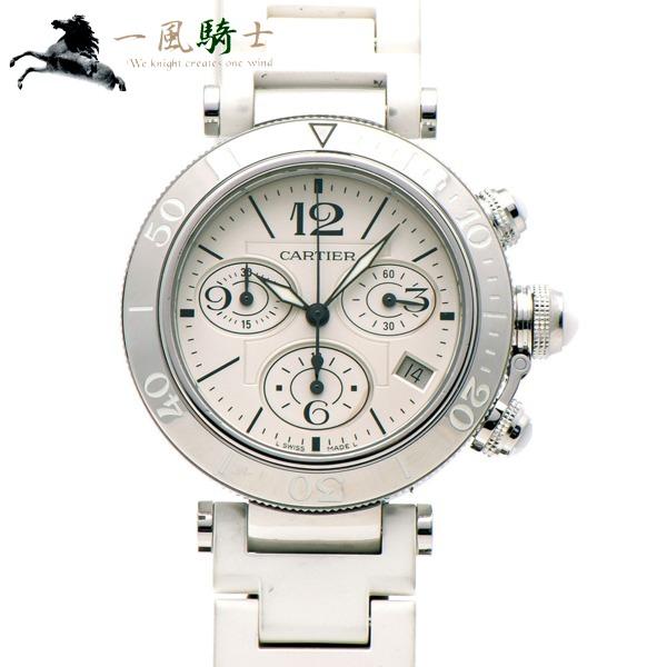 302486【中古】【Cartier】【カルティエ】パシャ シータイマー クロノグラフ W3140005