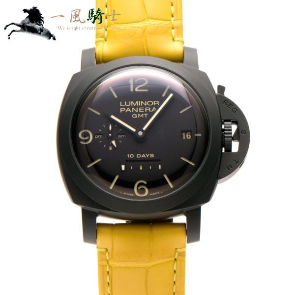 304601【中古】【PANERAI】【パネライ】ルミノール 1950 10デイズ GMT セラミカ PAM00335