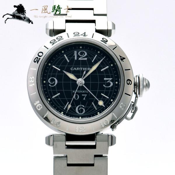 311904【中古】【Cartier】【カルティエ】パシャC メリディアン GMT W31049M7