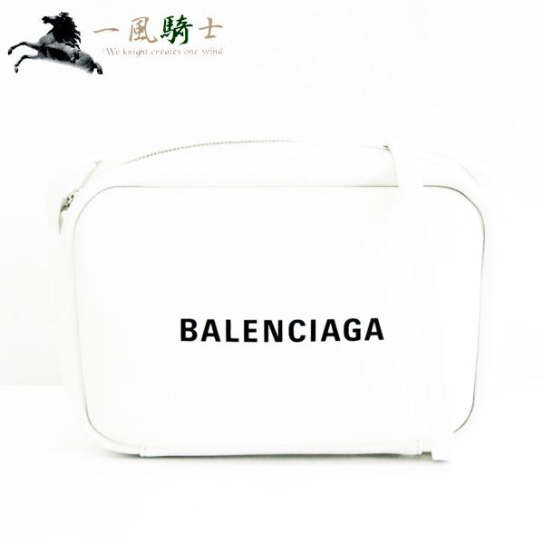 306309【新品】【BALENCIAGA】【バレンシアガ】エブリデイ カメラバッグS レザー ホワイト 489812