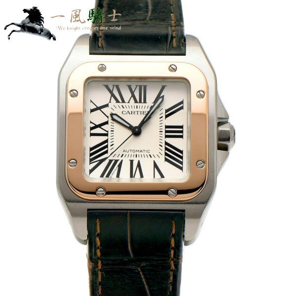 314417【中古】【Cartier】【カルティエ】サントス100 MM W20107X7