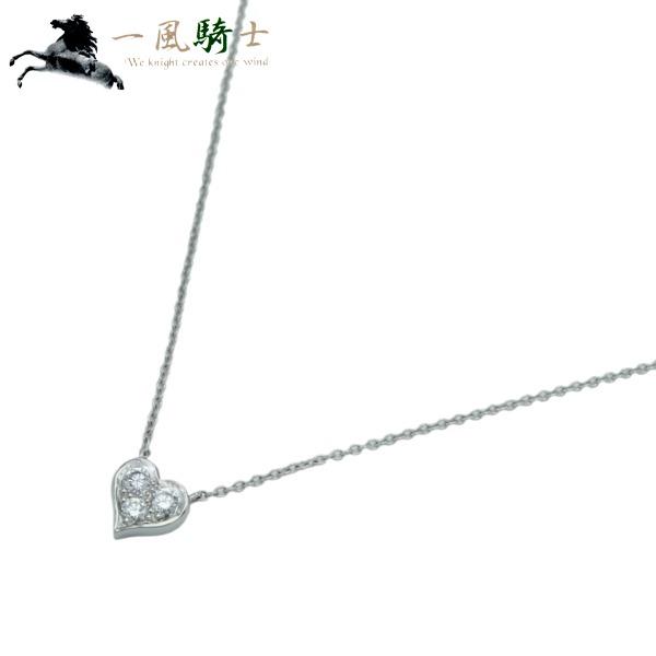 334720【TIFFANY&Co.】【ティファニー】センチメンタル ハート ネックレス PT950×ダイヤモンドT&Co. プラチナ ハートモチーフ ペンダント アクセサリー ブランドジュエリー:一風騎士