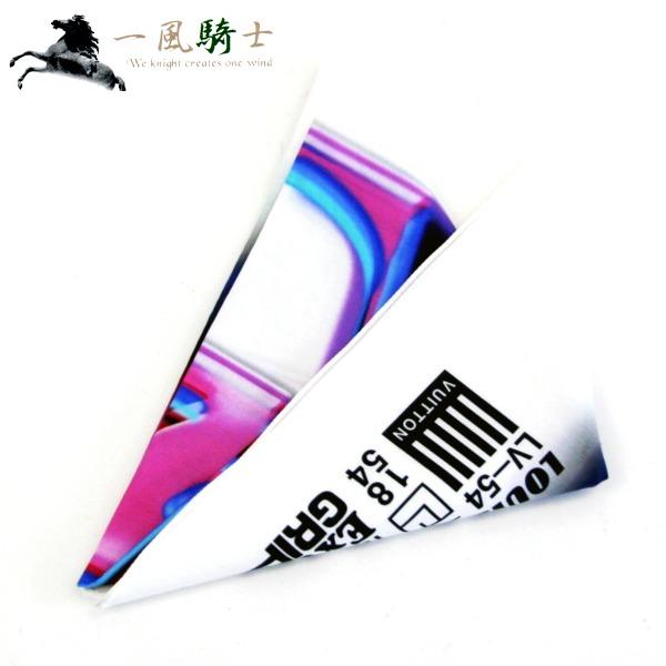 345537【新品同様】【LOUIS VUITTON】【ルイヴィトン】LV 3D バンダナ スカーフ コットン100% ホワイト MP2313