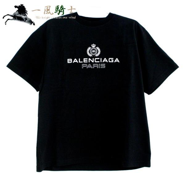送料無料 公式 一風騎士 8 15 日 0:00から 366062 未使用 BALENCIAGA Tシャツ 表記サイズ:XSバレンシアガ 594579 コットン クルーネック 黒 時間指定不可 半袖 ブラック バレンシアガ