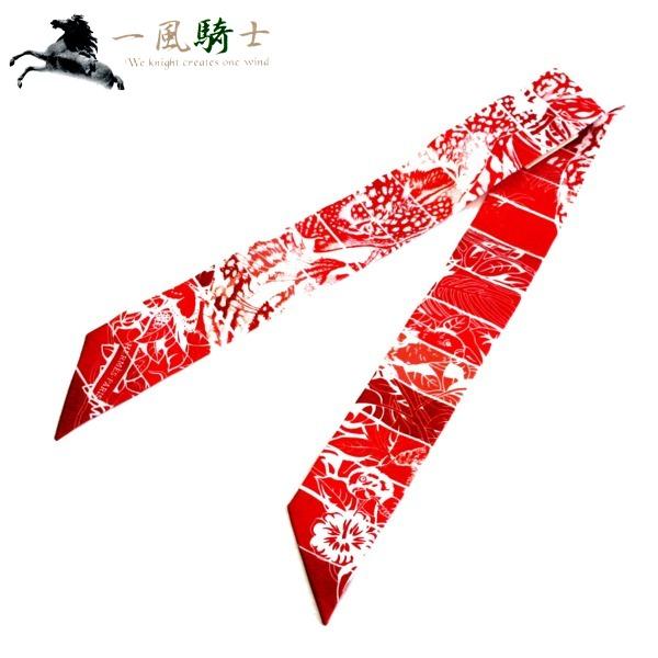 348705【未使用】【HERMES】【エルメス】トゥイリー JUNGLE LOVE RAINBOW シルク100% レッド×ホワイトhermes ストール スカーフ ファッション装飾小物 【中古】も多数出品中!!