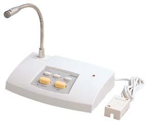 アイホン NDB-MIC2-C 連絡システム 2系統待合呼出装置 マイク(2系統用)