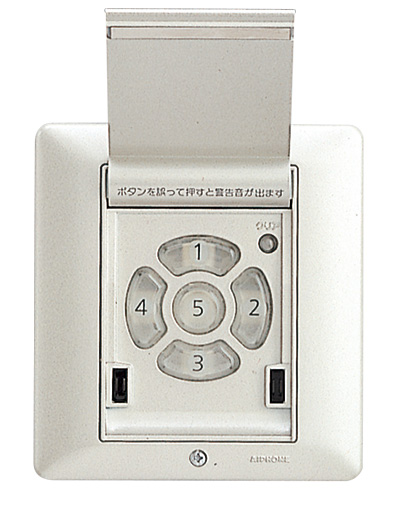 アイホン EL-5BY 家庭用電気錠システム5安心 解錠ボタン 【EL5BY】