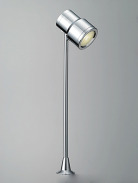DNライティング D-EXGT52CB LEDショーケースライト 白色 本体:クローム 1/2ビーム角:26° DEXGT52CB