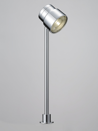 DNライティング D-EXGT72CB LEDショーケースライト 白色 本体:クローム 1/2ビーム角:24° DEXGT72CB