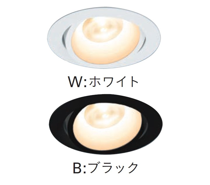 【受注品】 DNライティング D-EX131WB LEDダウンライト ホワイト 5000K DNL