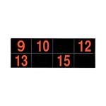 パナソニック ECE3157 ワイヤレスサービスコール YOBION 増設表示器 (シンプルタイプECE3152用)