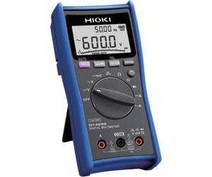 日置電機 DT4252 デジタルマルチメータ (HIOKI) <付属品>テストリードL9207-10、ホルスタ(本体装着)、取扱説明書、単4形アルカリ電池×4本
